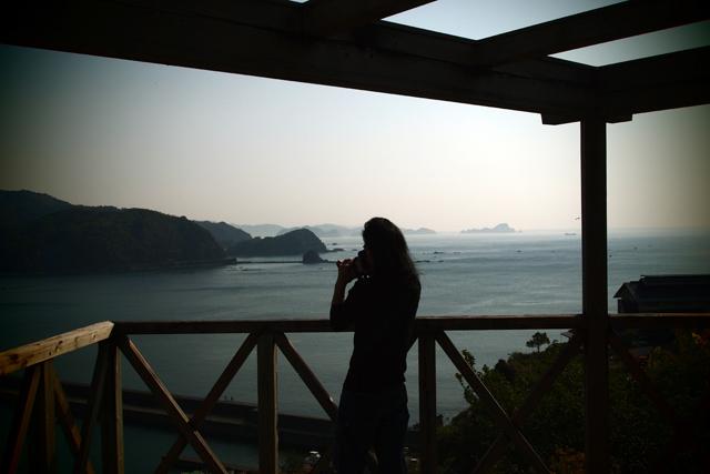 あまりの美しさに、出来ない早起きをして、撮影に夢中になる魚先生。