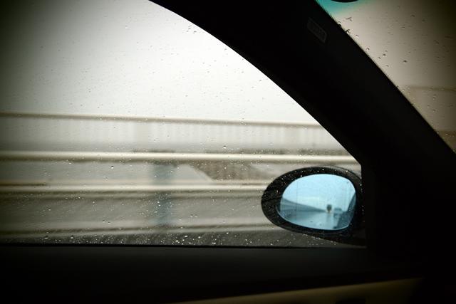 関東は雨だった。