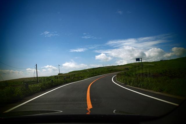 労働の合間にこの道をひーひー云いながら走っとります。