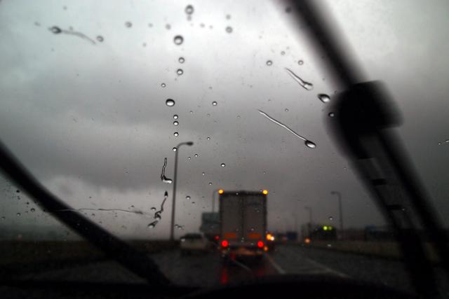 東京はバケツをひっくり返したような雨だった。