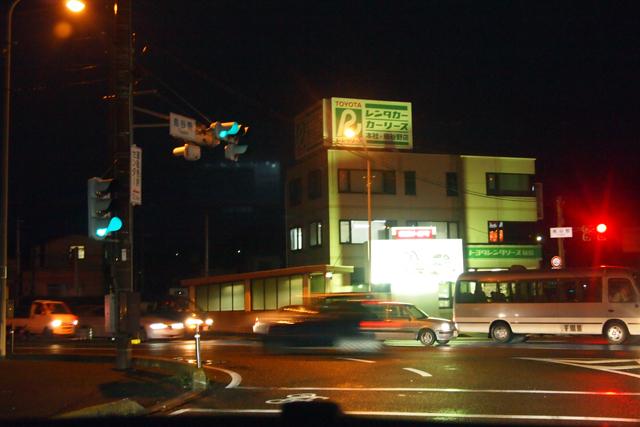 福島市、午後6時。美しい街だよ。
