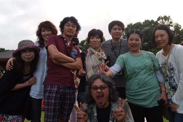 斉藤浩、奈良美智さん、FUGURIギャルズ。