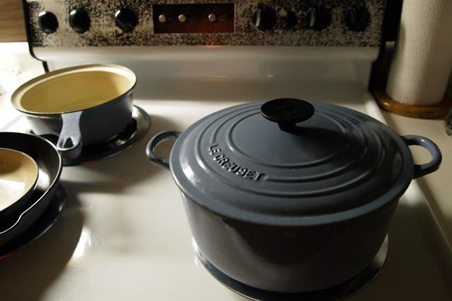 カメラの中に残されていたコロラドのキッチン。こいつで炊いたご飯が美味かったのよ。