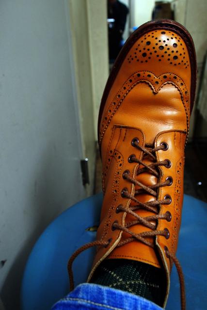 さぁ、ステージに上がるぜ、と靴の紐を結ぶ瞬間が好き。