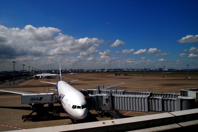 さすがに沖縄と北海道へは飛行機で参ります。