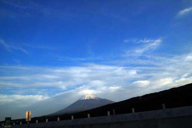 富士山の祝福。