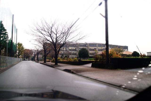大津北中学校全景。