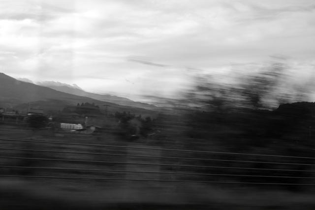 家を出たのが朝の8時、到着は午後6時で真っ暗。鮭川村はほんとうに遠かった。