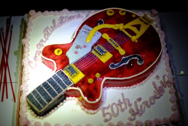 グレッチのケーキでした。ほんとうにありがとう。