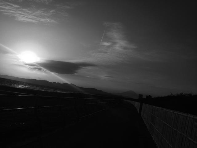 Running on empty ってポジティヴに響くんだよね。富士山も同意してくれると思う。