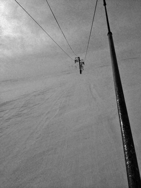 スキーだと何処にでも行けるんだけど、行きたいところに行けなかった不自由さも良かったりして。