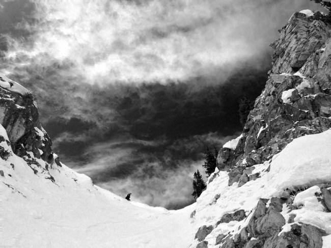 僕の次に現れたのは、屈強なるスキーパトロール。