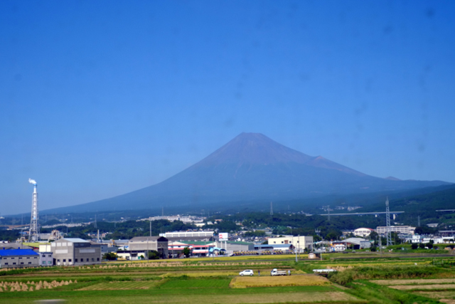 富士山を横目に観て、中津川にたどり着いたら。