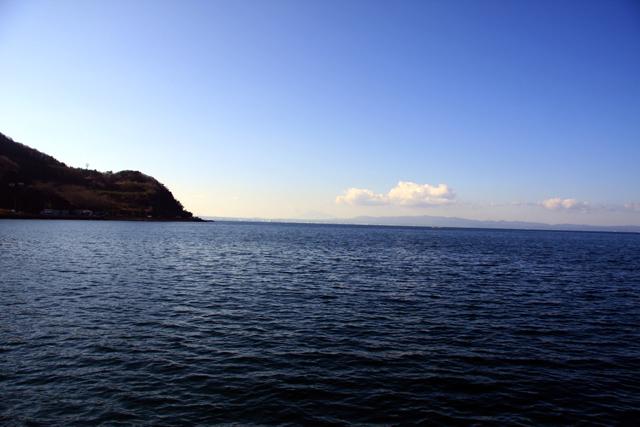 悪友ヒロシがディスカバー青森に連れて行ってくれた。これ、陸奥湾。