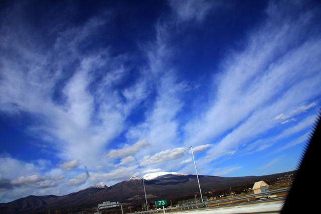ほらみろ、浅間山も美しいぜ。