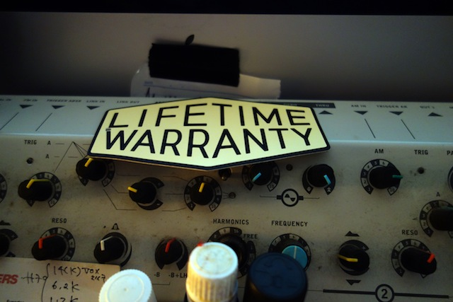 LIFETIME WARRANTY!