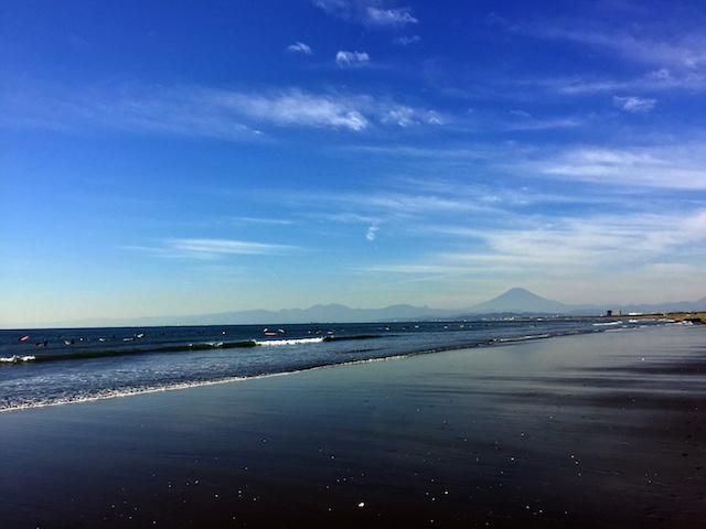富士山も完成を祝福してくれたでござるよ。