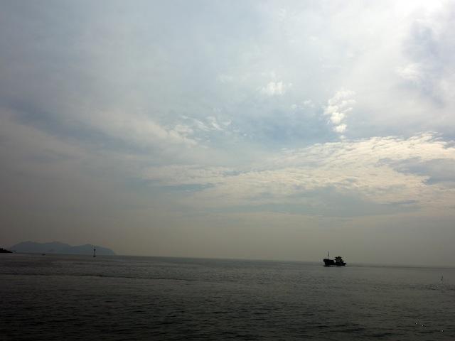 鞆の浦に行ったよ。ポニョ。