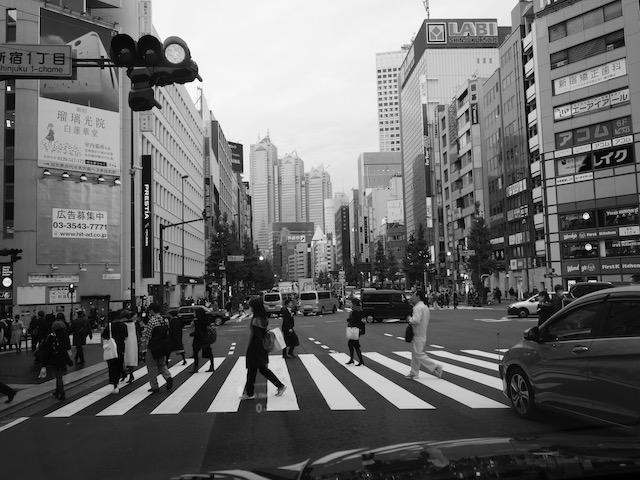 新宿はひさしぶりだった。