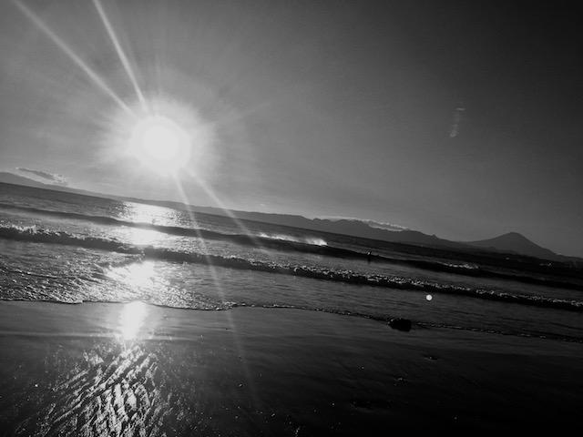 海と空と風と太陽と富士山。いうことなし。