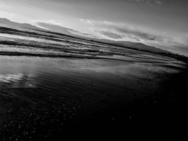 海はいいね。毎日見ても、いいね。