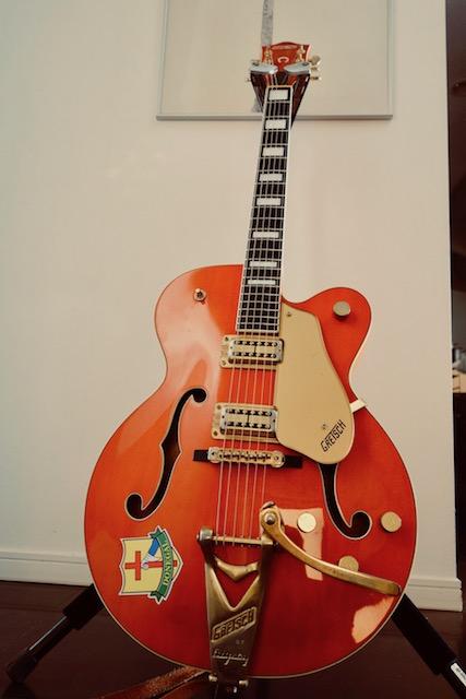 旧知のギターテック、Kが紹介してくれたリペアマンが凄腕すぎて。