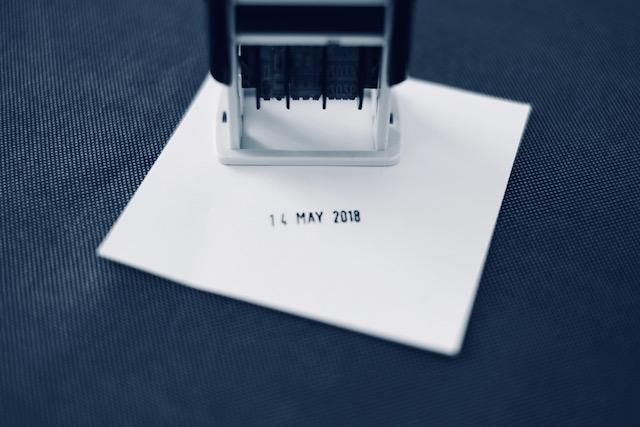 味気ない手紙にこれを押すだけで少しチャーミングになる。