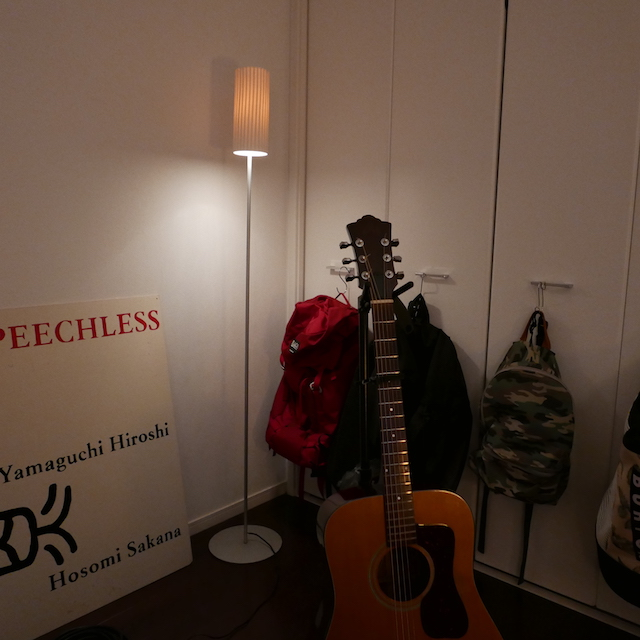 去年、我が家にやってきた2本目のGUILD D35。ずっとこれで曲を書いてる。いいギターだよ。