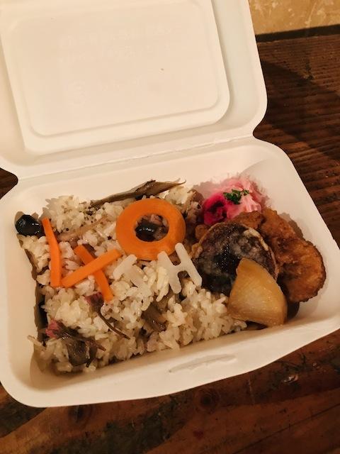 ヨシさんのHW40周年記念おべんとう!美味しかった。