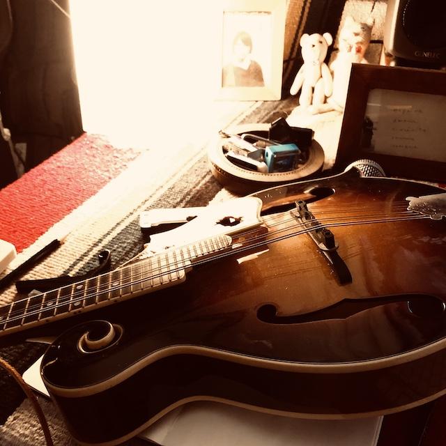 レコーディングのときしか使わないんだけど、いい感じにヤレてきた。テックが楽器は呼吸させてくださいっいうんだけど、同感だよ。