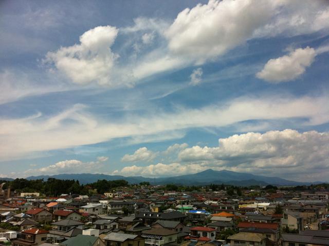 福島県郡山市。美しい。撮影、おおはた雄一。