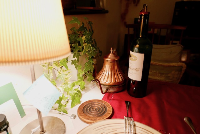 ワインは酔い方が違う。気がする。ロマンチックに酔う。気がする。